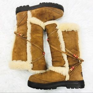 UGG   Nightfall Sheep Skin Wool Fur Winter Boots